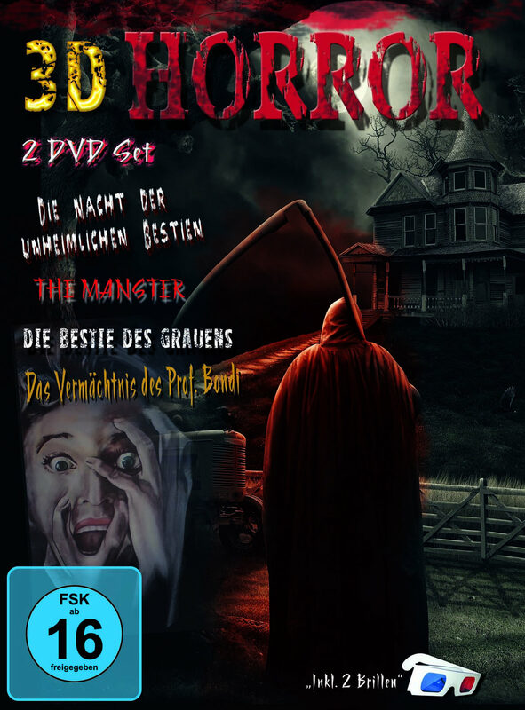 3D Horror Box  [2 DVDs] DVD Bild