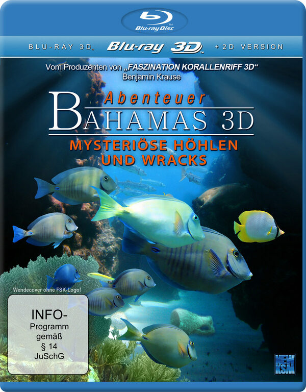 Abenteuer Bahamas 3D - Mysteriöse Höhlen und ... Blu-ray Bild