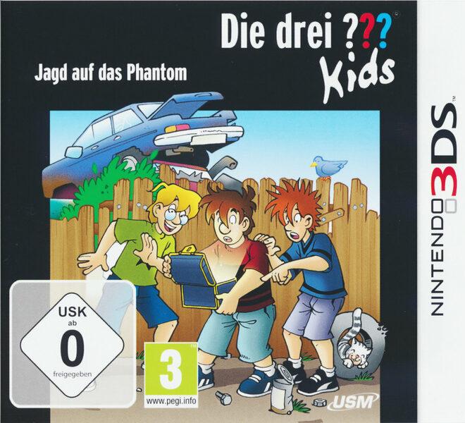 Die drei ??? Kids - Jagd auf das Phantom Nintendo 3DS Bild