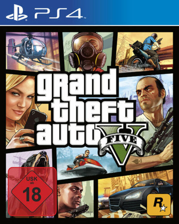 Grand Theft Auto V Playstation 4 Bild