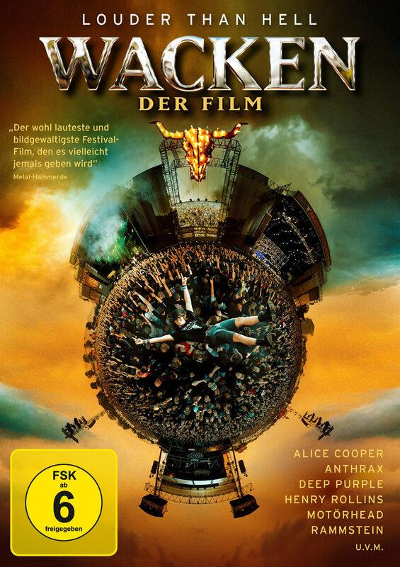Wacken - Der Film DVD Bild