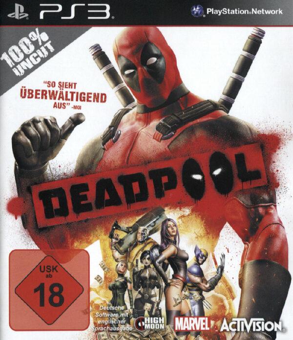 Deadpool PS3 Bild