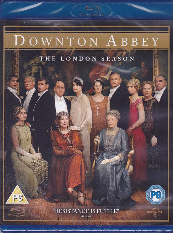Downton Abbey - The London Season UK Blu-ray Bild