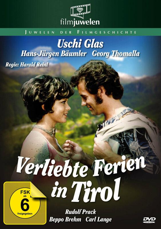 Verliebte Ferien in Tirol DVD Bild