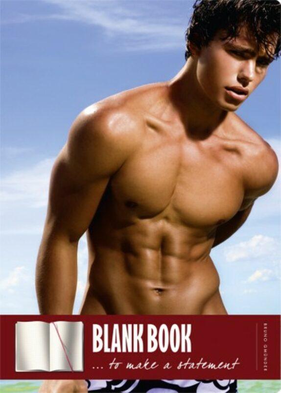 Blank book - Beachboy Gay Buch / Magazin Bild