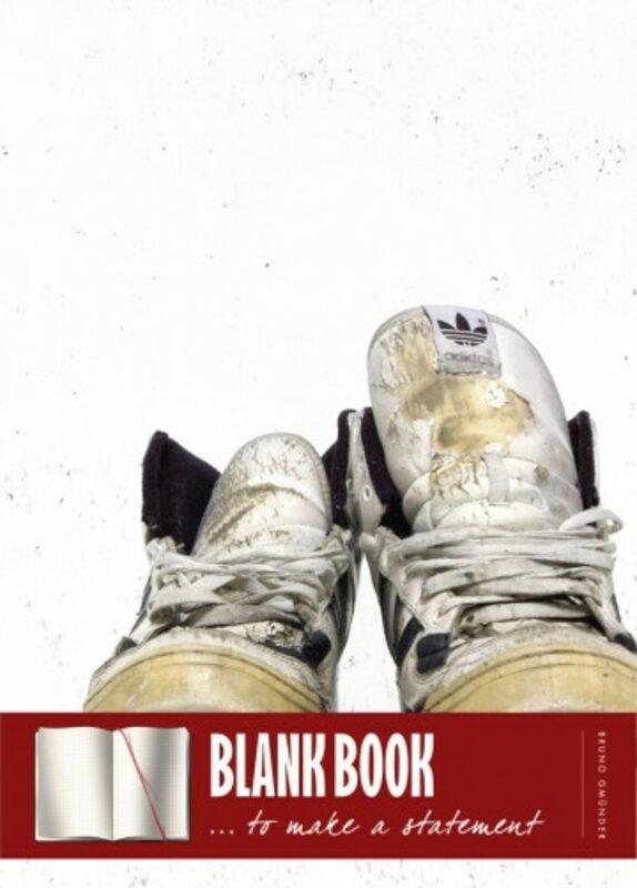Blank book - Sneaker Gay Buch / Magazin Bild