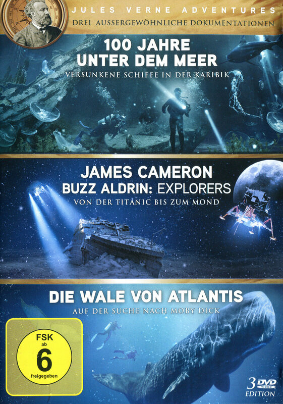 Jules Verne Adventures Box  [3 DVDs] DVD Bild