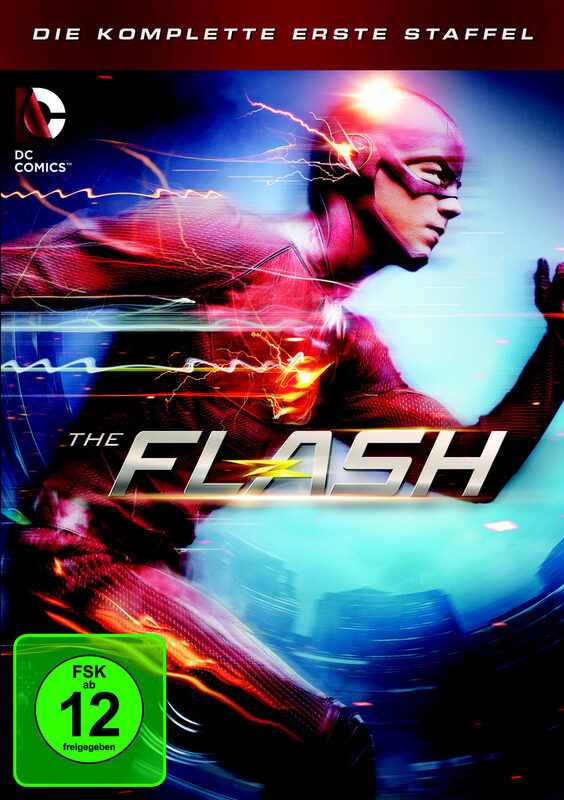 The Flash - Die komplette 1. Staffel  [5 DVDs] DVD Bild