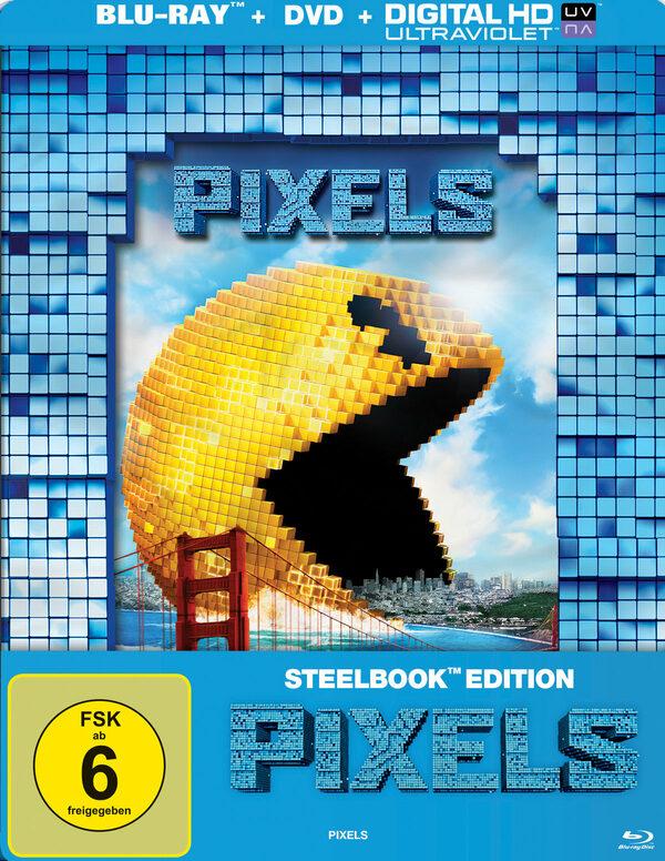 Pixels  [SB] (+ DVD) Blu-ray Bild