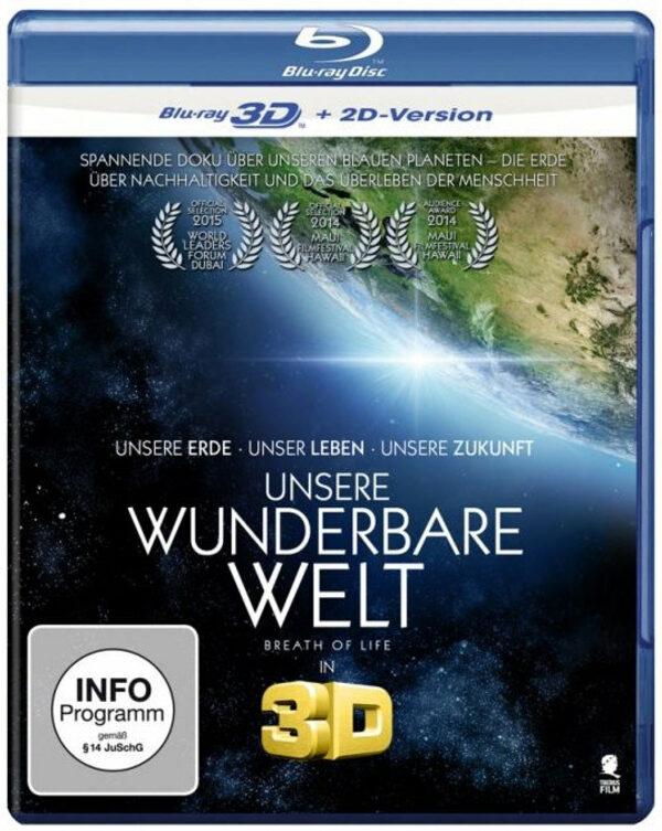 Unsere wunderbare Welt  (inkl. 2D-Version) Blu-ray Bild