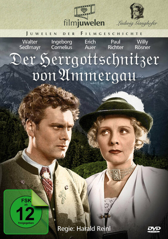 Der Herrgottschnitzer von Ammergau DVD Bild