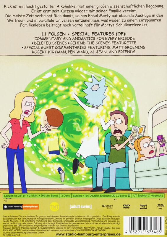 Rick And Morty Deutsch Staffel 1