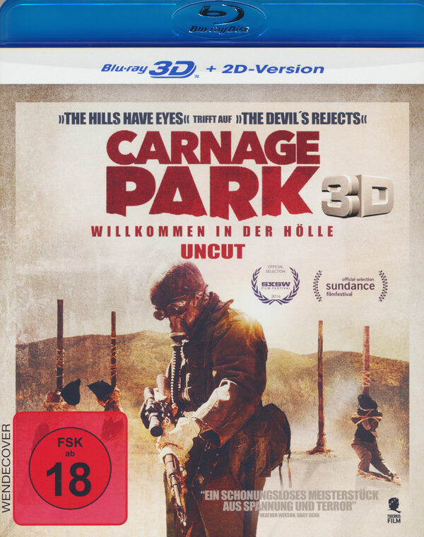 Carnage Park - Uncut  (inkl. 2D-Version) Blu-ray Bild