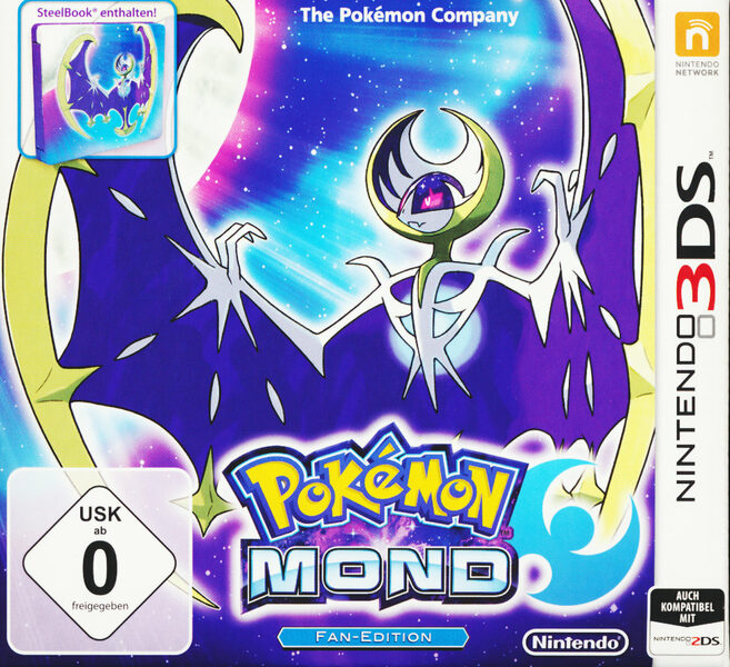 Pokémon Mond + Steelbook Nintendo 3DS Bild