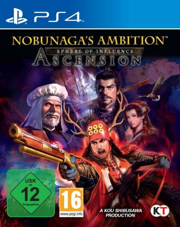 Nobunaga's Ambition - Sphere of Influence: Asce Playstation 4 Bild