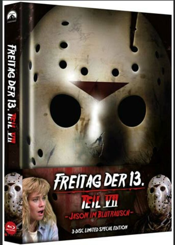 Freitag Der 13. Teil 7 - Jason Im Blutrausch (Limited 3-Disc-Mediabook) Blu-ray Bild