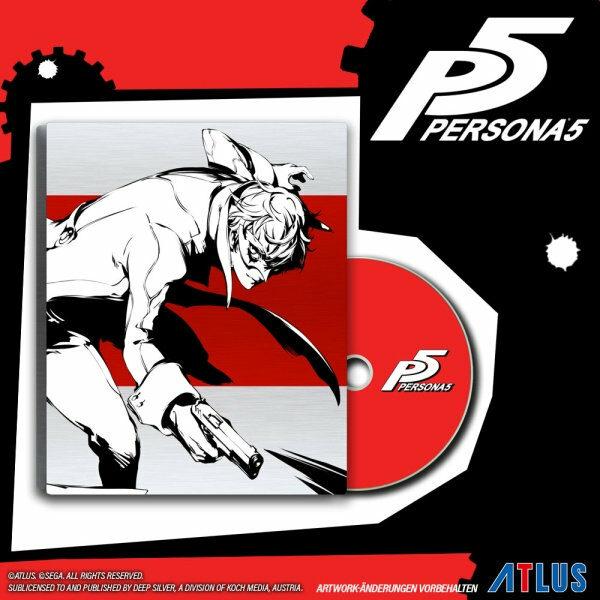 Persona 5 (Limited Steelbook D1-Edition) Playstation 4 Bild