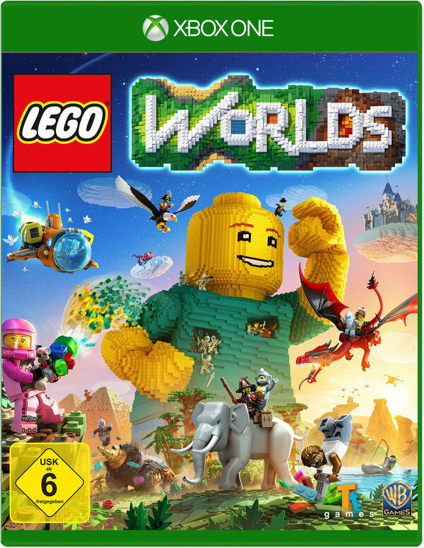 LEGO Worlds XBox One Bild