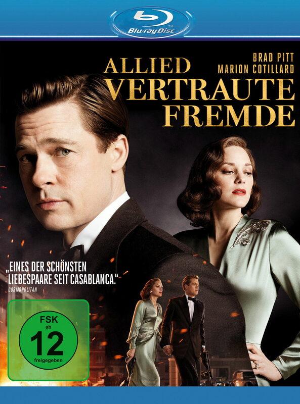 Allied - Vertraute Fremde Blu-ray Bild
