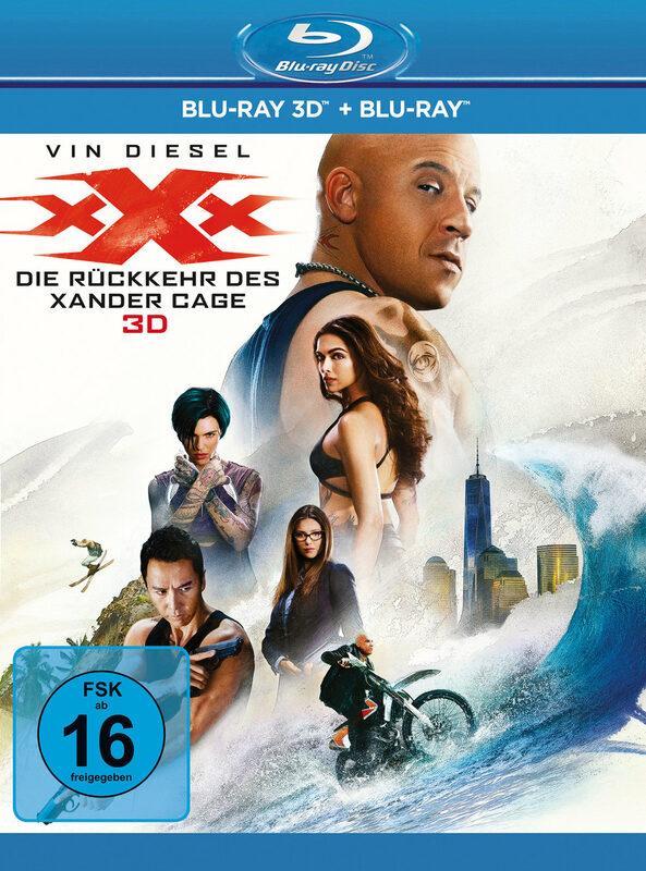 xXx - Die Rückkehr des Xander Cage  (+ BR) Blu-ray Bild
