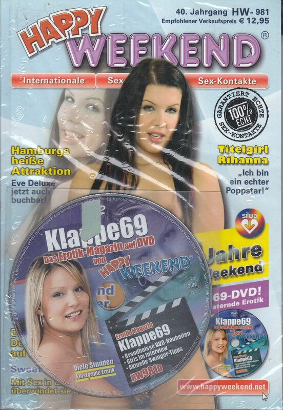 Happy Weekend Nr. 981 + DVD DVD-Magazin Bild