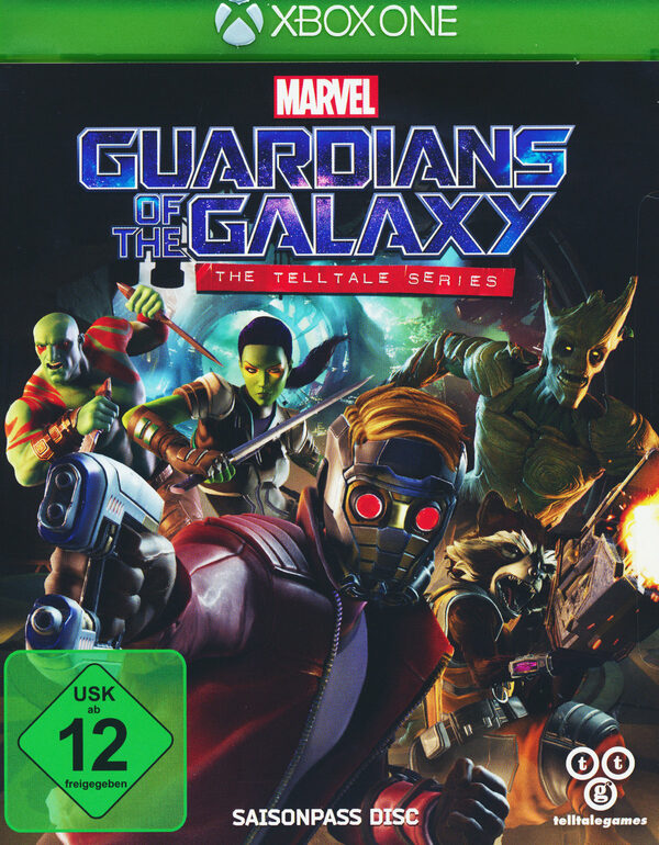 Guardians of the Galaxy - The Telltale Series XBox One Bild