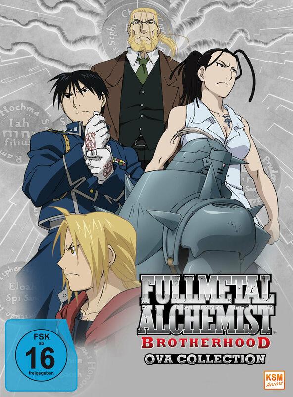 Fullmetal Alchemist - Brotherhood - OVA DVD Bild