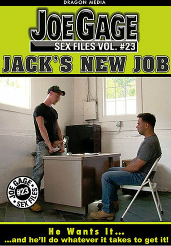 Joe Gage Sex Files 23 - Jack's New Job Gay DVD Bild