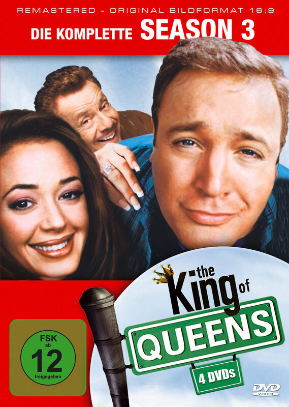 King of Queens - Season 3  [4 DVDs] DVD Bild