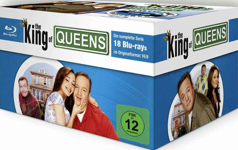 King of Queens - Die komplette Serie  [18 BR] Blu-ray Bild