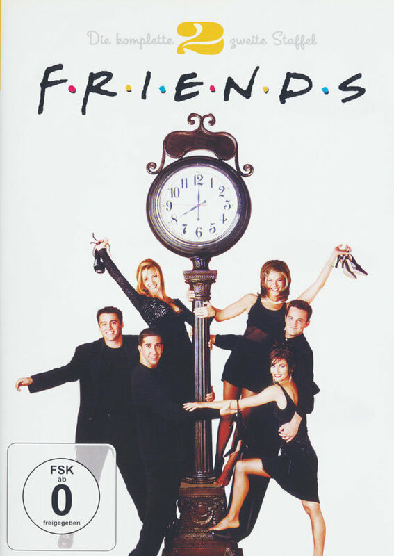 Friends - Box Set / Staffel 2  [4 DVDs] DVD Bild