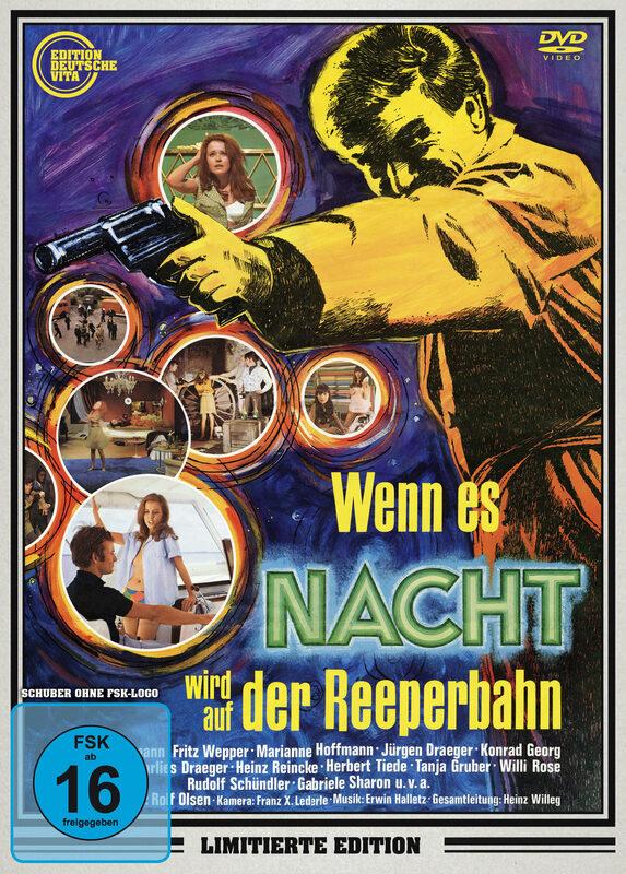 Wenn es Nacht wird auf der Reeperbahn  [LE] DVD Bild