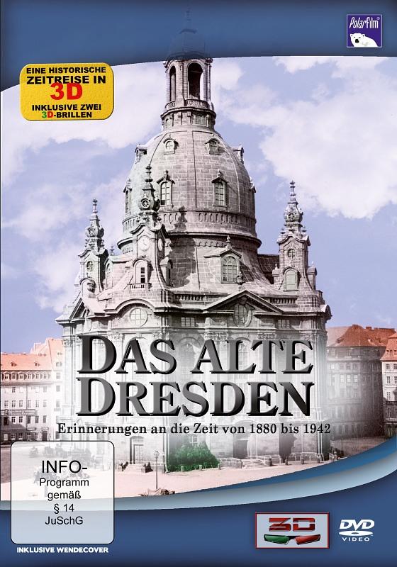 Das alte Dresden in 3D  (+ 2 3D-Brillen) DVD Bild