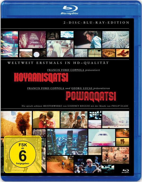 Koyaanisqatsi/Powaqqatsi  [2 BRs] Blu-ray Bild
