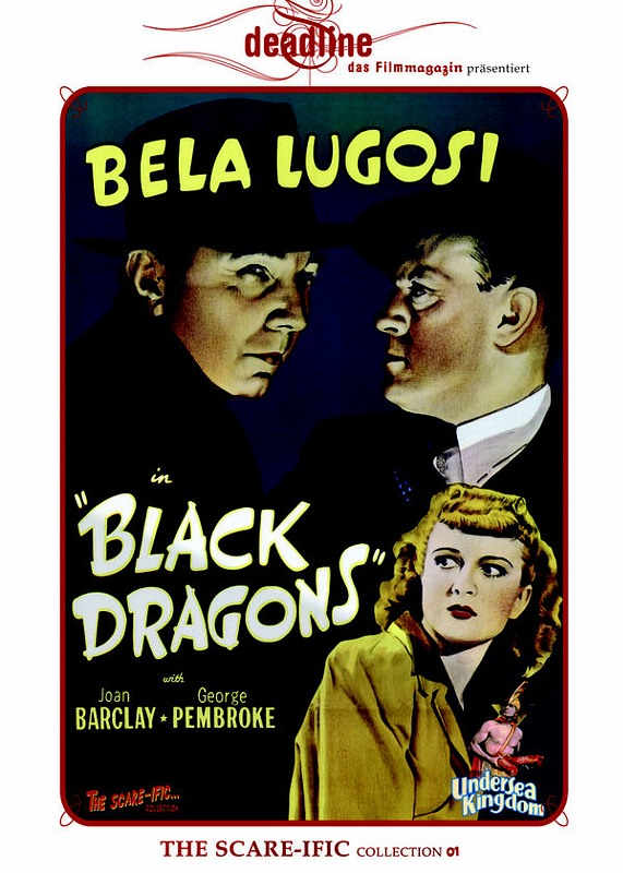 Black Dragons - The Scare-Ific Collection 01 DVD Bild