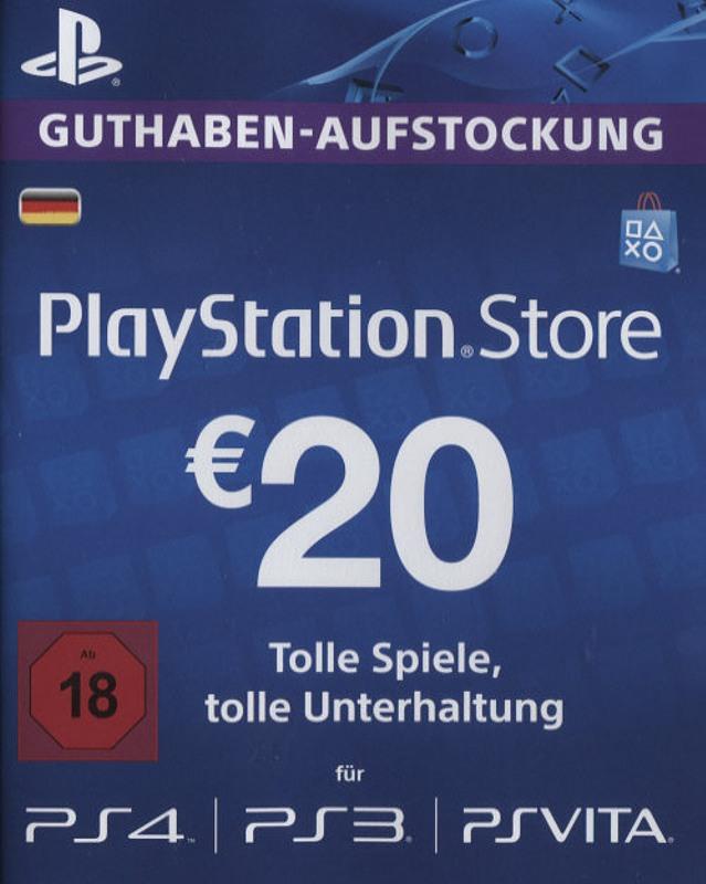 PS4 - Playstation Store Network Card 20€ Playstation 4 Bild