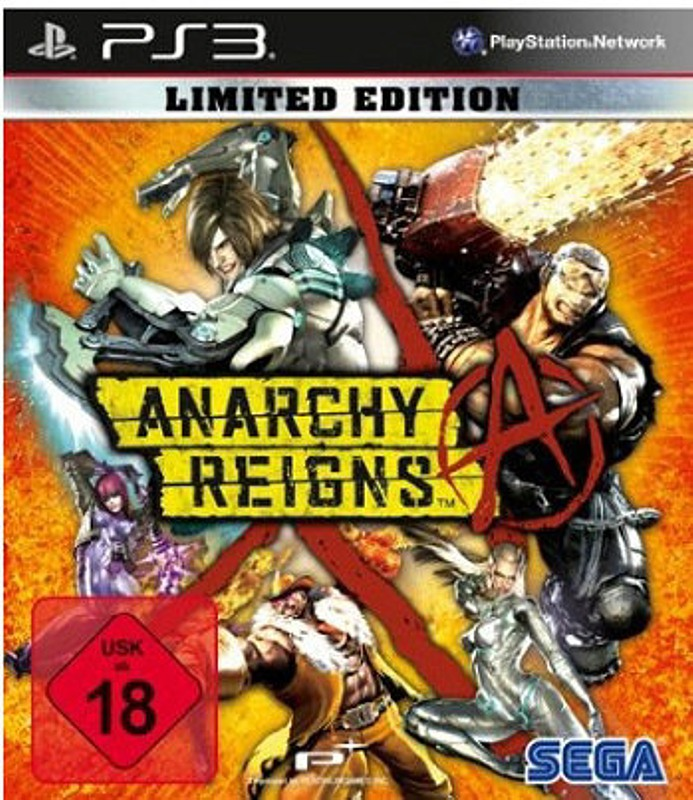 Anarchy Reigns (Limited Edition) PS3 Bild