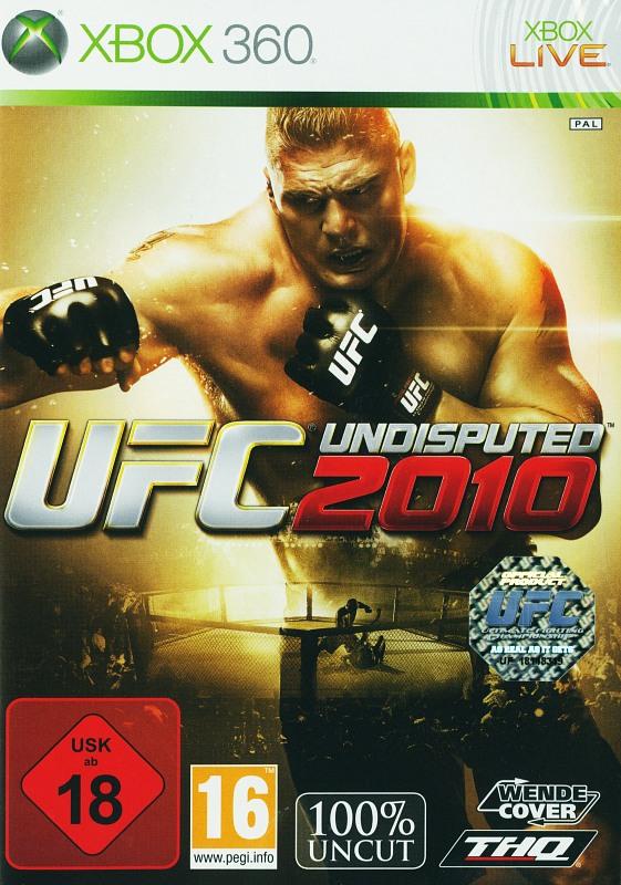 UFC Undisputed 2010 XBox 360 Bild