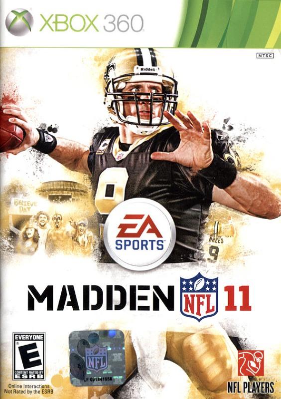Madden NFL 11  (englisch) XBox 360 Bild