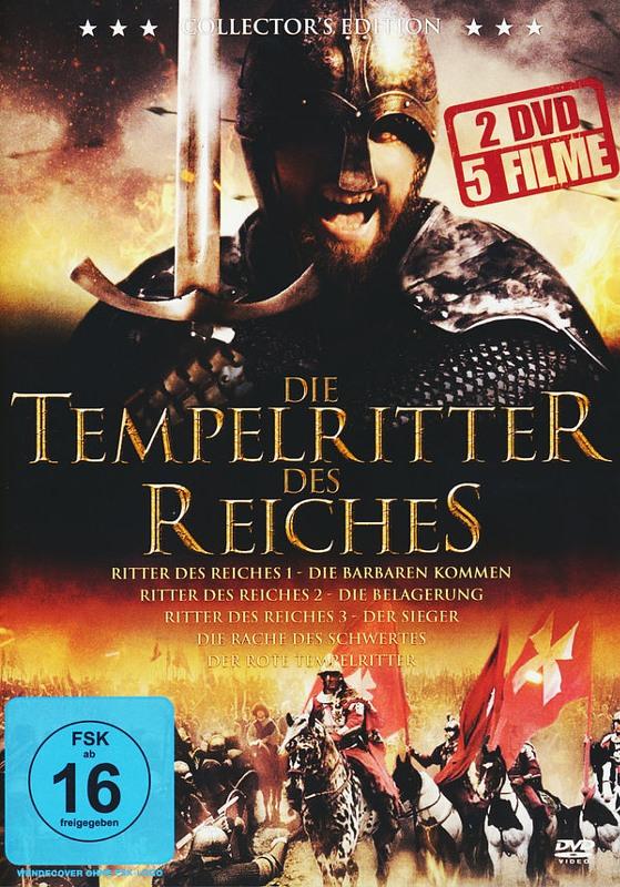 Die Tempelritter des Reiches  [2 DVDs] DVD Bild