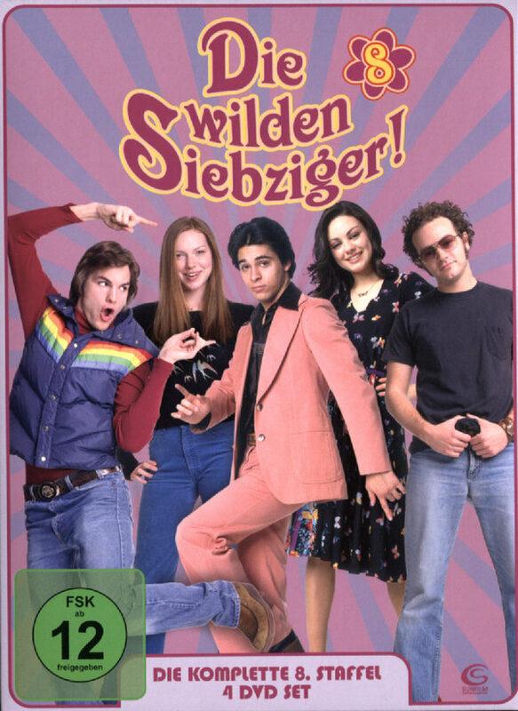 Die wilden Siebziger! - Staffel 8  [4 DVDs] DVD Bild