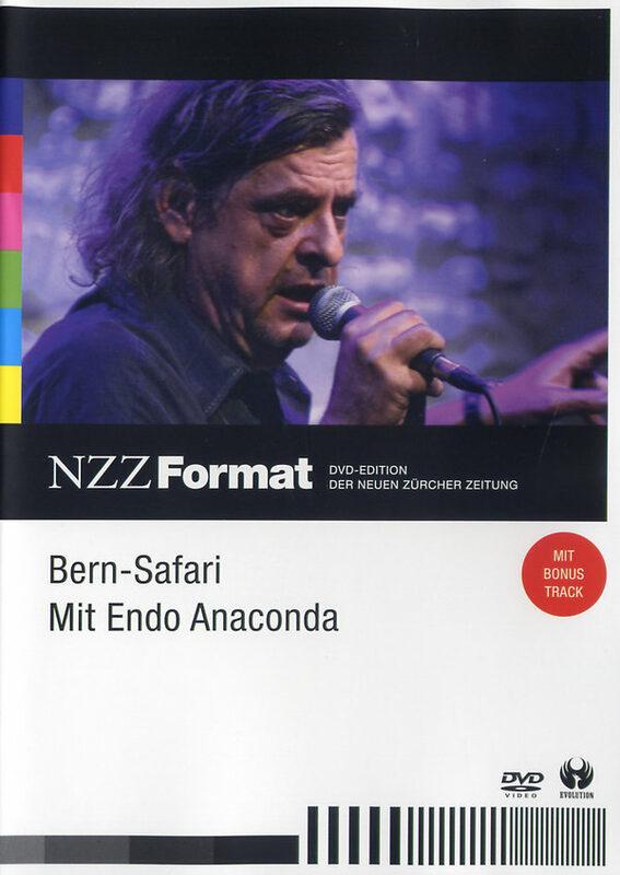 Bern-Safari - Mit Endo Anaconda - NZZ Format DVD Bild