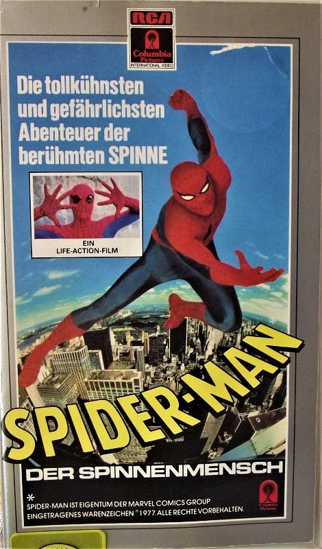 Spider-Man VHS-Video Bild