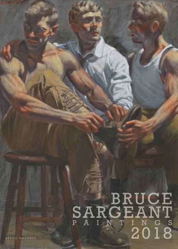 Bruce Sargeant 2018 Gay Buch / Magazin Bild