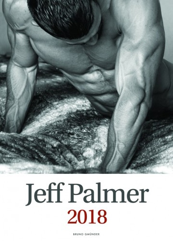 Jeff Palmer 2018 - Wandkalender Gay Buch / Magazin Bild