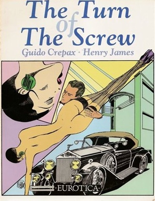 The Turn of the Screw  by Guido Crepax and Henry James Comic Bild