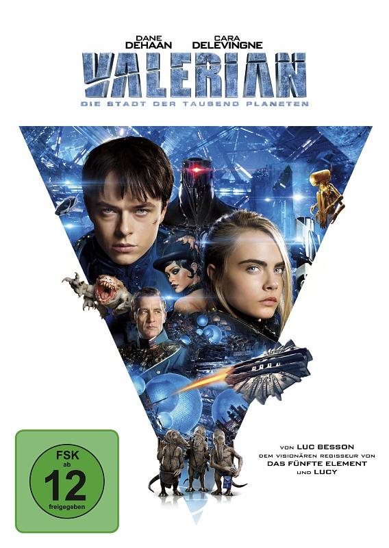 Valerian - Die Stadt der tausend Planeten DVD Bild