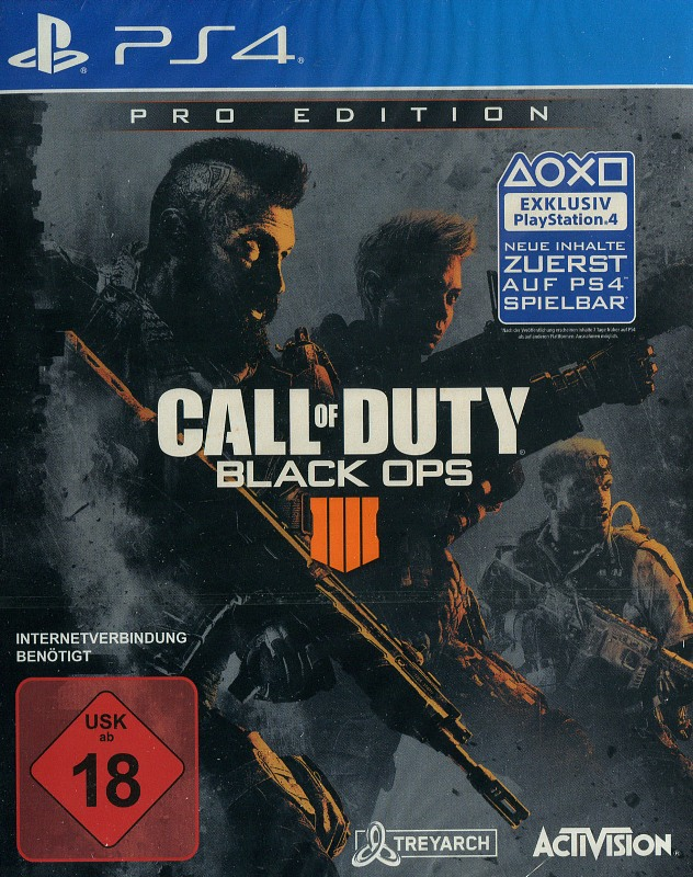 Call of Duty 15 - Black Ops 4 (Pro Edition) Playstation 4 Bild