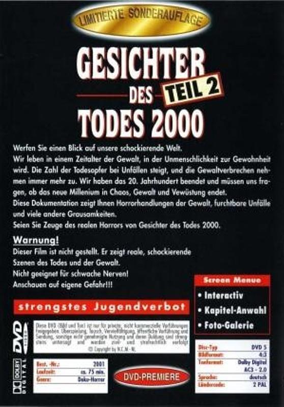 Gesichter Des Todes 2000