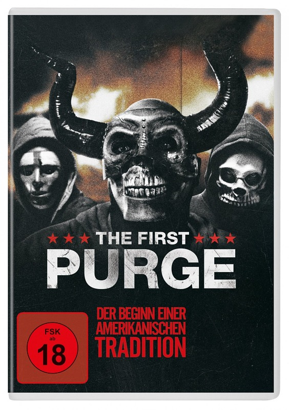 The First Purge DVD Bild